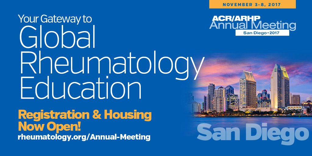 ACR/ARHP Annual Meeting - WSF