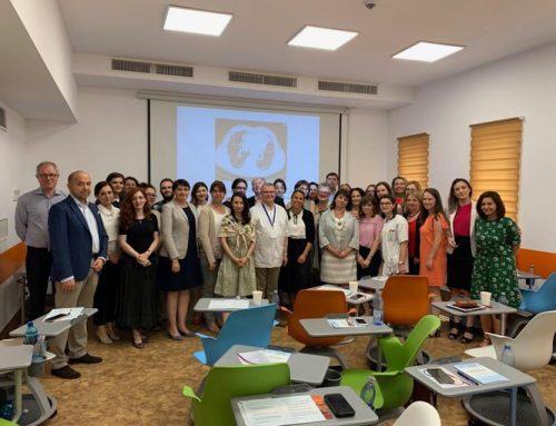 WSF/RSS Masterclass on ILD-SSc Bucharest, Romania 2019